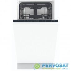 Вбудована посудом. машина Gorenje GV561D10/інверторна/45 см./ 11 компл./3 кошики/5 прогр./повн.AquaStop/кнопочне упр/А+++