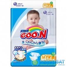 Подгузник GOO.N М для детей 6 - 11 кг унисекс 64 шт (843154)