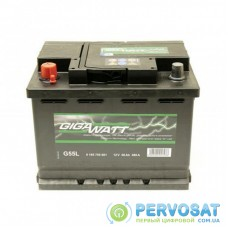 Аккумулятор автомобильный GigaWatt 56А (0185755601)