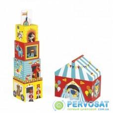 Janod Кубики картонные - Цирк