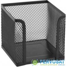 Подставка-куб для писем и бумаг Axent 100х100x100мм, wire mesh, black (2112-01-A)