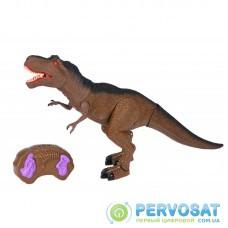 Same Toy Динозавр - Тиранозавр коричневый (свет, звук) RS6123AUt