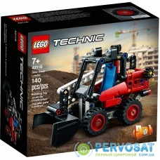Конструктор LEGO Technic Мини-погрузчик 140 деталей (42116)