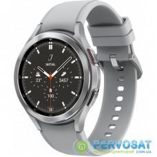 Смарт-часы Samsung SM-R890/16 (Galaxy Watch 4 Classic 46mm) Silver (SM-R890NZSASEK)