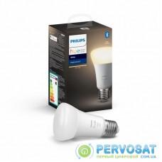 Умная лампочка Philips Hue Single Bulb E27, White, BT, DIM (929001821618)