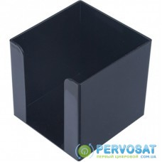 Подставка-куб для писем и бумаг BUROMAX 90х90х90мм, черный (83033)