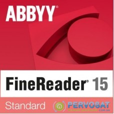 ПО для работы с текстом ABBYY FineReader 15 Standard (ESD) for personal use (FR15SW-FMPL-X)
