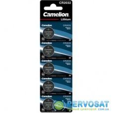 Батарейка CR 2032 Lithium * 5 Camelion (CR2032 BP5)