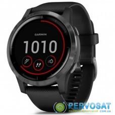Смарт-часы Garmin vivoactive 4, Black with Slate Hardware (010-02174-13)