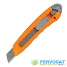 Нож канцелярский Axent 18мм, display (assorted colors) (6402-А)