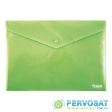 Папка - конверт Axent А4, textured plastic, green (1412-25-А)