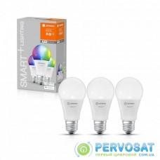 Набір ламп світлодіодних 3шт LEDVANCE SMART+ Classic A 60 E27 MULTICOLOR 9W (806Lm) 2700-6500K WiFi дім-их