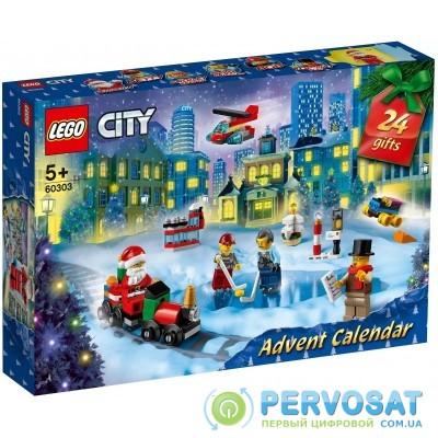 Новорічний календар LEGO City 60303