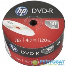 Диск DVD HP DVD-R 4.7GB 16X 50шт (69303/DME00070-3)