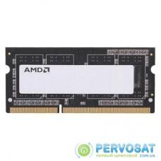 Модуль памяти для ноутбука SoDIMM DDR3L 4GB 1600 MHz AMD (R534G1601S1SL-U)