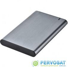 "Карман внешний GEMBIRD 2.5"" USB3.1 alum grey (EE2-U3S-6-GR)"