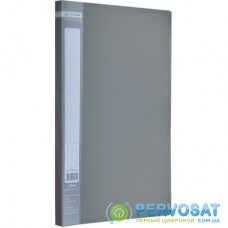 Папка-скоросшиватель BUROMAX А4 JOBMAX, gray (BM.3406-09)