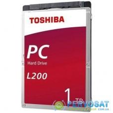 """Жесткий диск для ноутбука 2.5"""" 1TB TOSHIBA (HDWL110UZSVA)"""