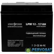 Батарея к ИБП LogicPower LPM 12В 17Ач (4162)