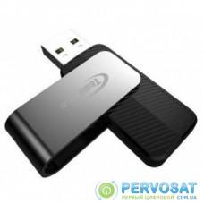 USB флеш накопитель Team 4GB C142 Black USB 2.0 (TC1424GB01)