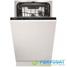 Вбудована посудом. машина Gorenje GV520E10/ 45 см./ A++/11 компл./5 прогр./ повний AquaStop