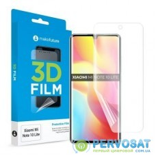 Пленка защитная MakeFuture Xiaomi Mi Note 10 Lite 3D Film (MFT-XMN10L)