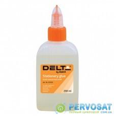 Клей Delta by Axent Stationery glue, polymer, 200 мл, cap dispenser (D7223)