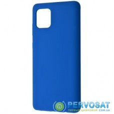 Чехол для моб. телефона WAVE Full Silicone Cover Samsung Galaxy Note 10 Lite blue (27854/blue)