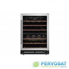 Вбуд. холодильник для вина ARDESTO WCBI-M44, 87см, 1 дв., Холод.відд. - 137л, ST, Темп.зон - 2, Нерж