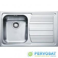 Кухонні мийки Franke Logica line LLL 611-79/101.0381.809/декор/з крилом/ необоротна/34х40х20/нержав.сталь