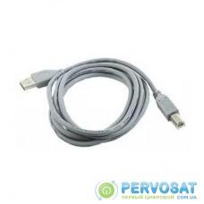 Кабель для принтера USB 2.0 AM/BM 1.8m Cablexpert (CCP-USB2-AMBM-6G Grey)
