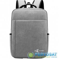 "Рюкзак для ноутбука AirOn 15.6"" Weekend 15L Grey (4822356710655)"