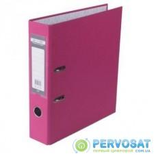 Папка - регистратор Buromax А4, 70мм, JOBMAX PP, pink, built-up (BM.3011-10c)