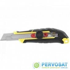 Нож канцелярский Stanley FatMax 18 мм сегментированое лезвие 175мм с фиксатором (FMHT10329-0)