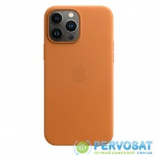 Чехол для моб. телефона Apple iPhone 13 Pro Max Leather Case with MagSafe - Golden Brown, (MM1L3ZE/A)
