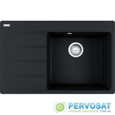 Кухонні мийки Franke Centro CNG 611-78 TL/114.0630.479/необоротна/ фраграніт/ 780х500х20/онікс