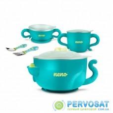 Набор детской посуды Neno Mucca красный (5902479672267)