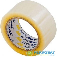 Скотч BUROMAX Packing tape 48мм x 50яр х 40мкм, JOBMAX, clear (BM.7010-00)