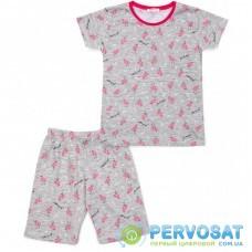 Пижама Breeze с фламинго (15778-152G-gray)