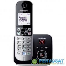 Радіотелефон DECT Panasonic KX-TG6821UAB Black