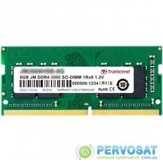 Модуль памяти для ноутбука SoDIMM DDR4 8GB 2666 MHz Transcend (JM2666HSG-8G)
