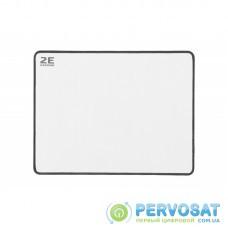 Ігрова поверхня 2E Gaming Speed/Control Mouse Pad M White (275*360*3 мм)