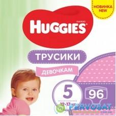 Подгузник Huggies Pants 5 M-Pack 12-17 кг для девочек 96 шт (5029054568170)