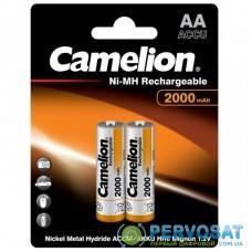 Аккумулятор Camelion AA 2000mAh Ni-MH * 2 R6-2BL (NH-AA2000BP2)