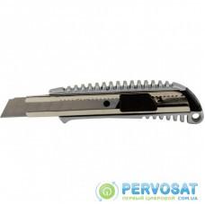 Нож канцелярский BUROMAX 18мм, METAL (BM.4620)