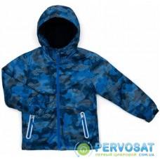 Куртка TOP&SKY на флисе утепленная (4016-140B-blue)