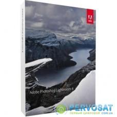 ПО для мультимедиа Adobe Lightroom 6 Multiple Eng AOO Lic TLP (65237534AD01A00)