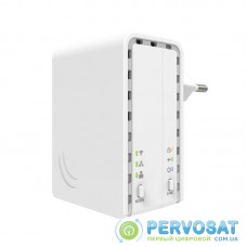 MikroTiK Адаптер Powerline PWR-LINE AP PL7411-2nD