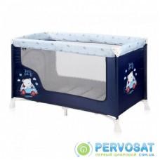 Детский манеж Bertoni/Lorelli San Remo 1L (SR 1L blue bear)