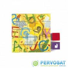 Кубики картонні Janod Алфавіт J02993
